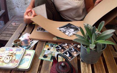 Regalar emociones,encuadernar álbumes, ordenar fotos, … caminar en la belleza