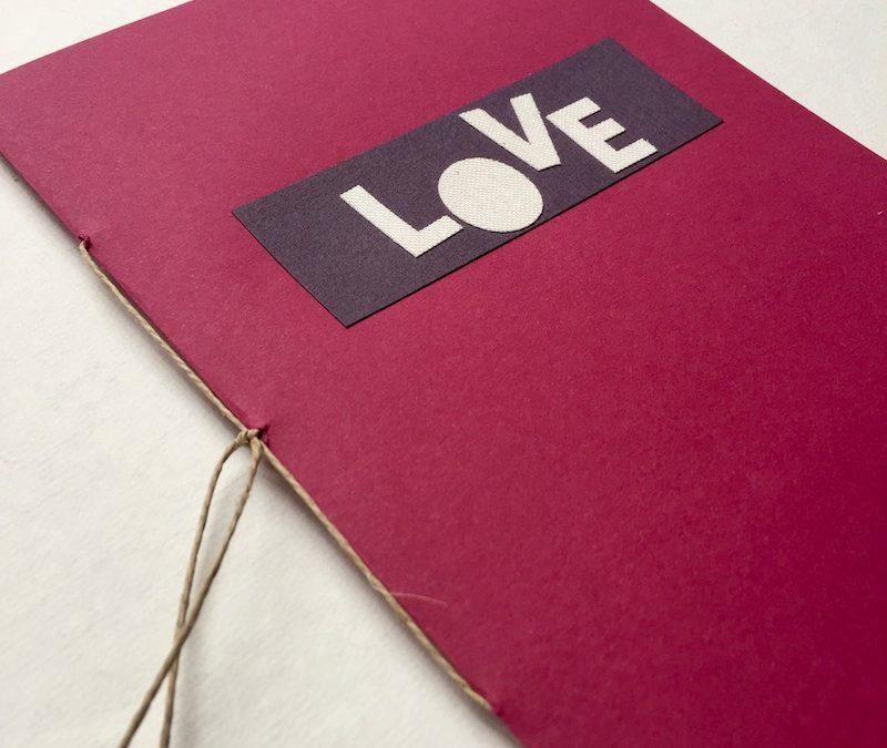 Tutorial DIY: mini álbum LOVE