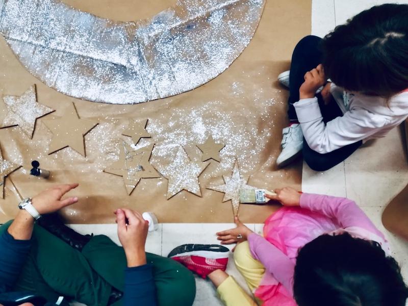 Actividad familiar en el Centro Cívico Can Felipa.
