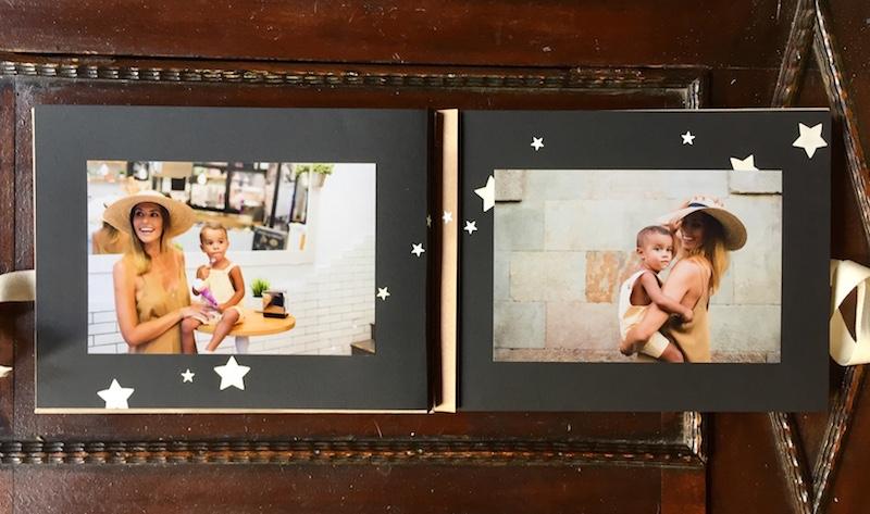 Personalizar páginas de álbum con troqueles