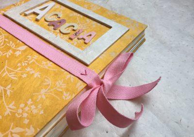 Álbum de fotos BEBÉS con diario ACACIA, Álbum de fotos, diario de embarazo, álbum de fotos infantil,  álbum de fotos de bebé, libreta personalizada.