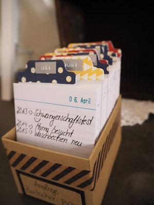 Caja para organizar fotos